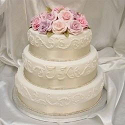 Bröllopstårta / AH Cake & Design