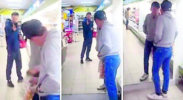 #VIDEO: Hombre en estado de ebriedad se pelea con su propio reflejo - Diario Correo: Diario Correo VIDEO: Hombre en estado de ebriedad se…