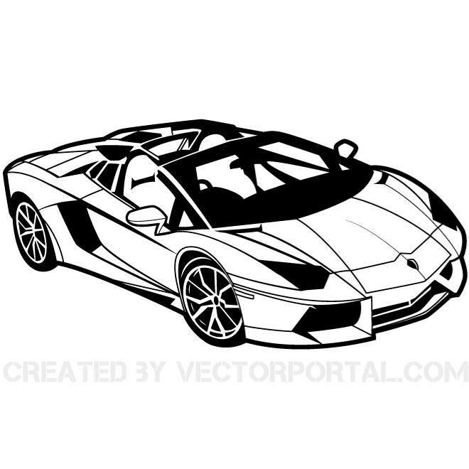 Sport Car Vector Illustration Vehicles Free Vectors Home Decor