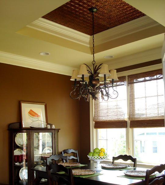 I Want A Tray Tin Ceiling In My New Dining Room  Not Quite Like This Part 50