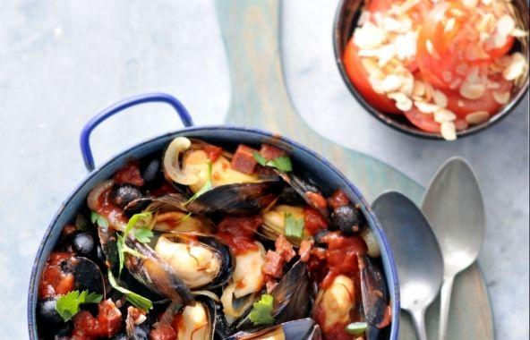 Spaanse mosselen - Recepten - Mosselen kunnen altijd!
