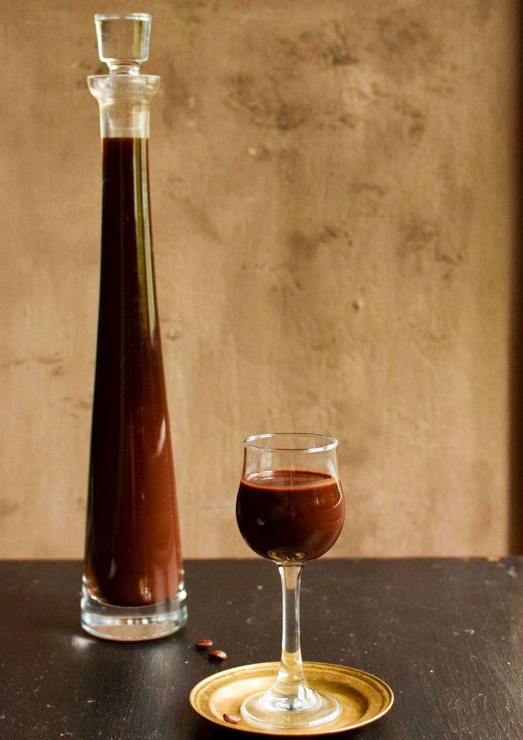 Likier kawowo-czekoladowy