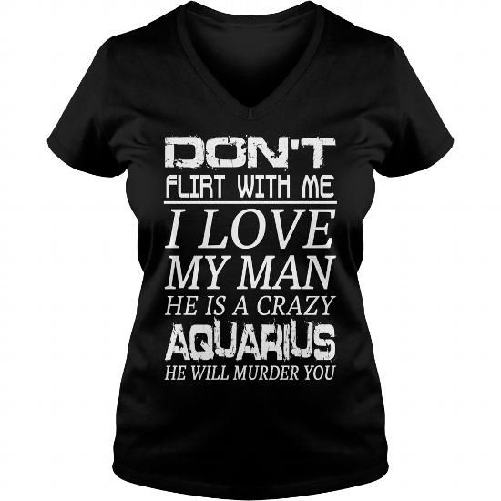Awesome Tee Crazy Aquarius Shirt; Tee