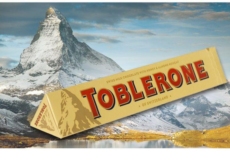 Toblerone молочный с нугой (Таблерон, 100г) в наличии 4 вкуса. Цена на сайте ChocoShop.com.ua
