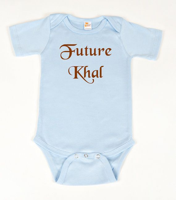 Game of Thrones future Khal bodysuit by geeklingdesigns on Etsy,