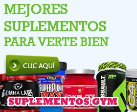 mejores suplementos gym para ganar músculo