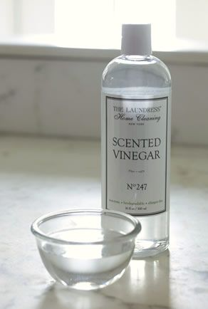 Versatile Vinegar - many cheap, easy, and environmentally-friendly household cleaning recipes! Most of these were new to me.