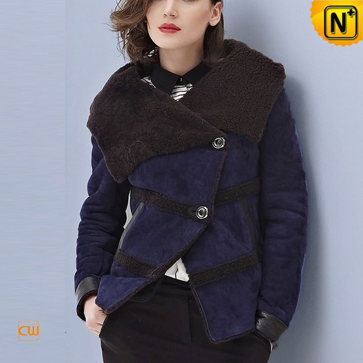 www.cwmalls.com PayPal Available (Price: $1655.89) Email:sales@cwmalls.com; Merino Winter Shearling Jacket Coat for Women CW644150 Genuine Toscana shearling collar winter jacket for women, best quality yet warmest winter biker jacket for women with Toscana shearling collar and genuine leather exterior are guaranteed to keep you warm in cold weather!