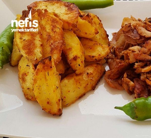 Firinda Yogurtlu Patates ( Enfess )