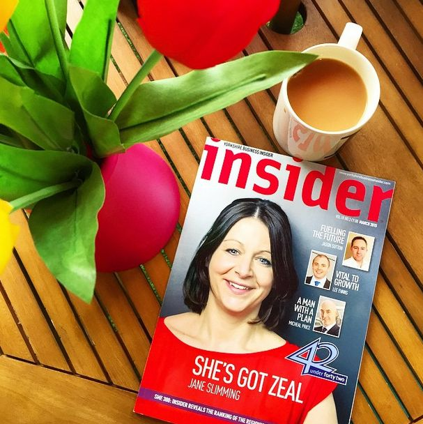 She's got Zeal... Our MD Jane has not only made Insider's '42 under 42' list, she's also made the cover! #Insider #Business  #Marketing