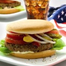 Amerian burger