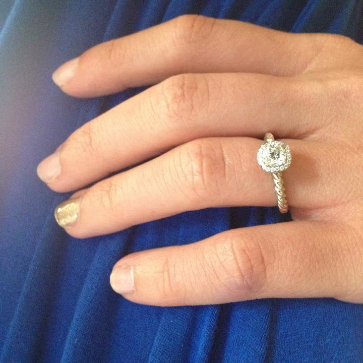 My David Yurman Engagement Ring