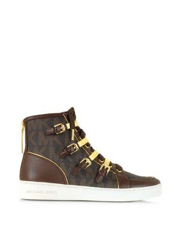 Michael Kors Kimberly High Top Sneaker Logate