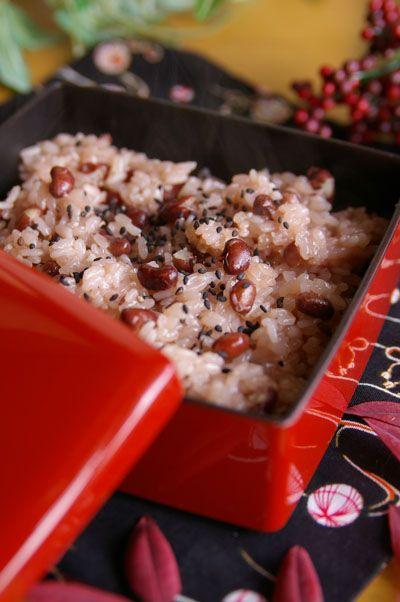 お赤飯レシピ 圧力鍋で簡単な赤飯の作り方とコツ 圧力鍋づかいで美味しいお赤飯!
