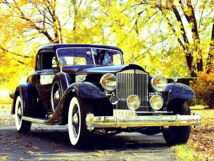 1933 Packard Custom Twelve Coupe Dietrich