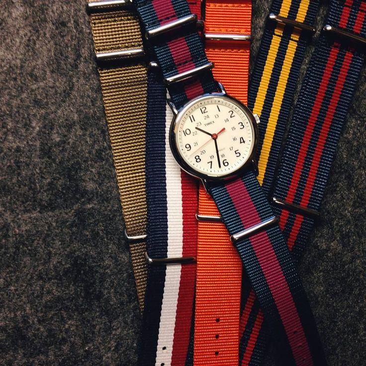 Timex Weekender + Weird.H Nato Strap weirdh.com