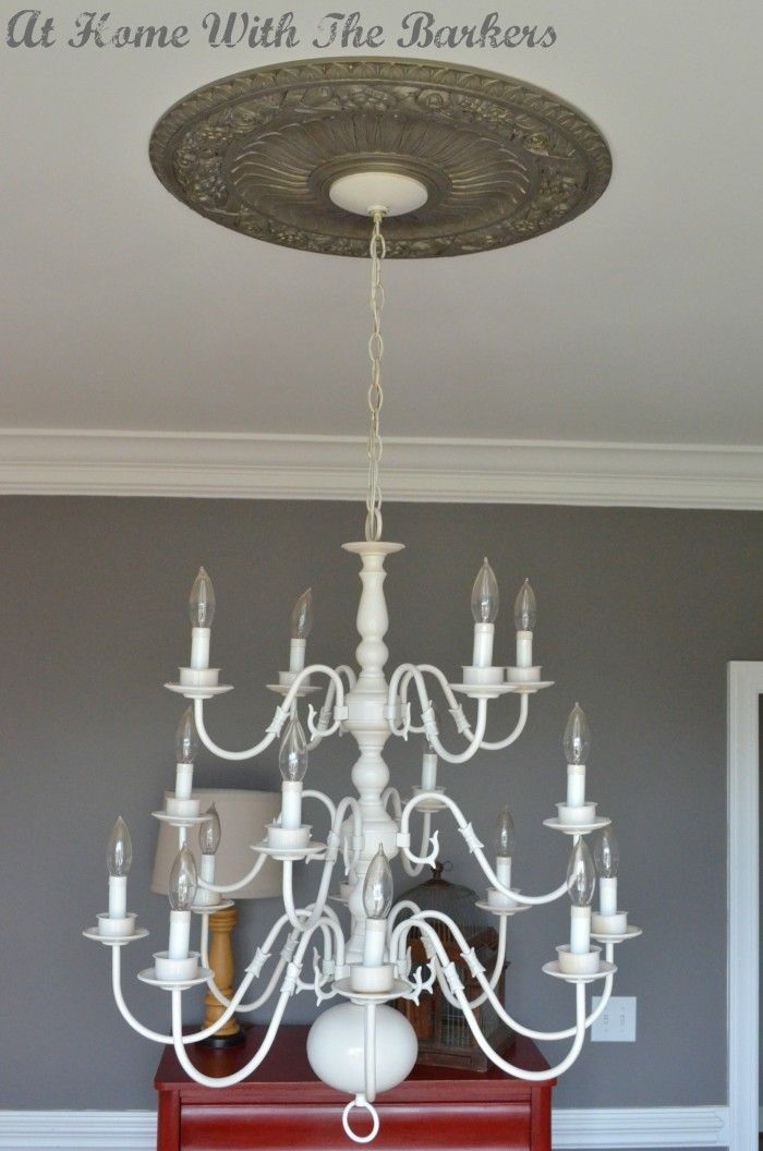 25 Best Spray Painted Chandelier Ideas On Pinterest