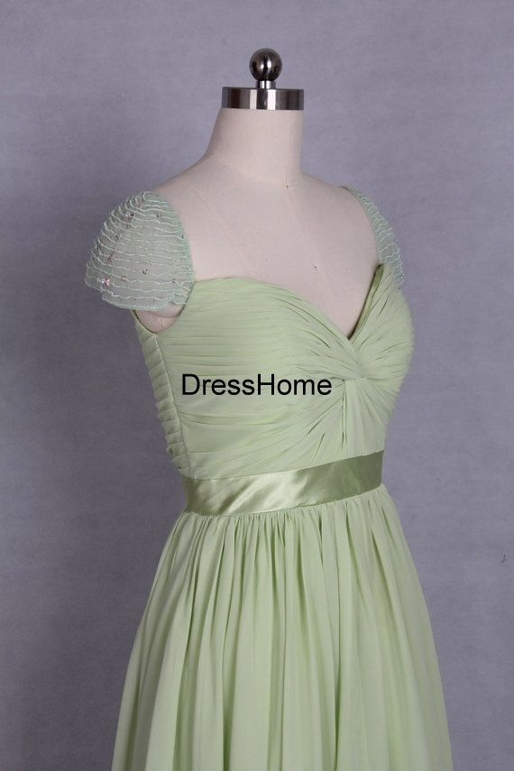 Bridesmaid Dresses  long  Bridesmaid Dress / Mint  by DressHome, $129.99.... this comes in almost every color