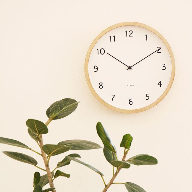 壁掛け時計 loma ロマ aina [アイナ] の設置イメージ画像