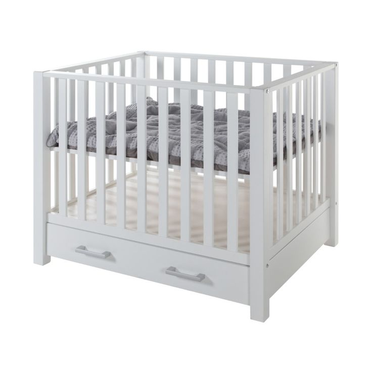 Box Casper Met Lade Wit. Kinderbox/playpen with adjustable floor; a higher height for newborns so they're easily picked up and a lower height for when the baby can sit or stand.