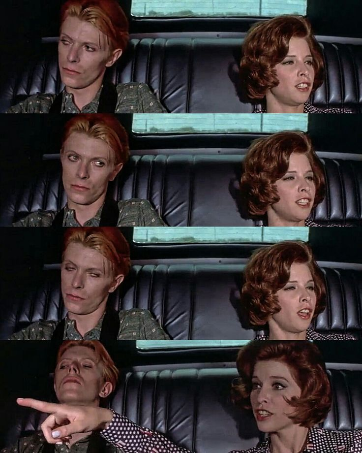 David Bowie and Candy Clarck - The Man Who
