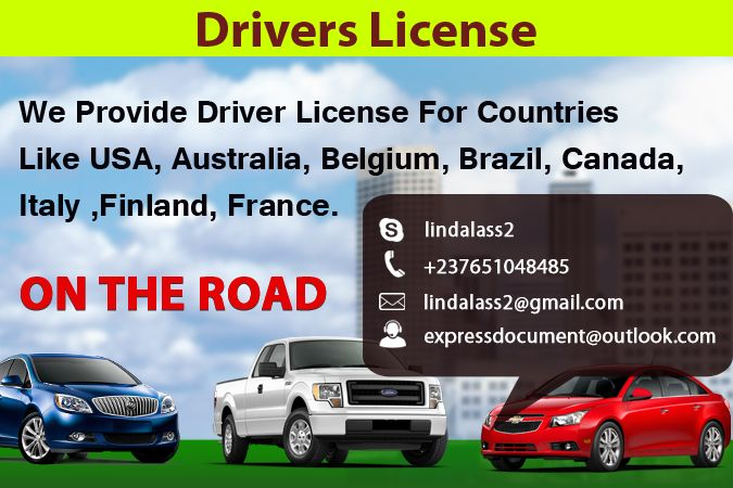 Drivers License We #Provide Driver #License For ...