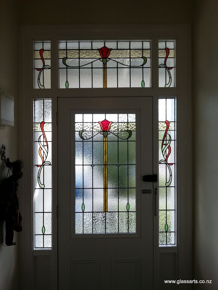 72 best beautiful stained glass entrance doors images on for Front door with 6 windows