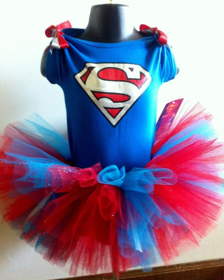 Super Girl Tutu Outfit! by SylviaThisandThat on Etsy https://www.etsy.com/listing/225100240/super-girl-tutu-outfit