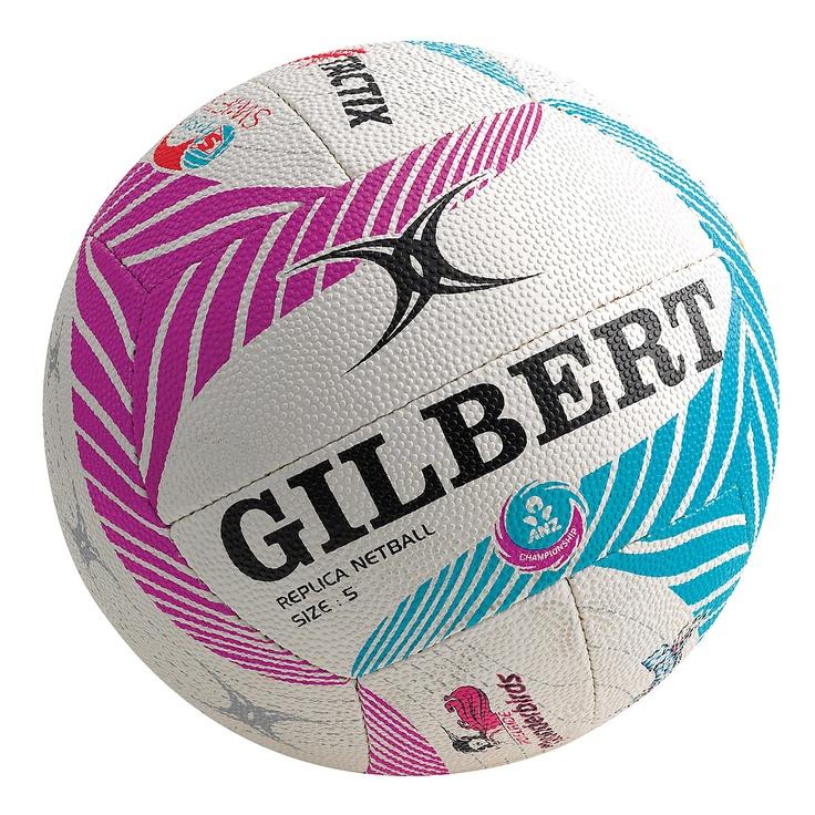Gilbert ANZ Championship All Team Logo Netball