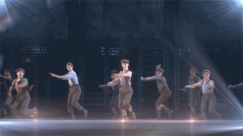 "When you refuse to choose between the movie and the Broadway show. | Community Post: 15 Struggles Only ""Newsies"" Fans Understand"
