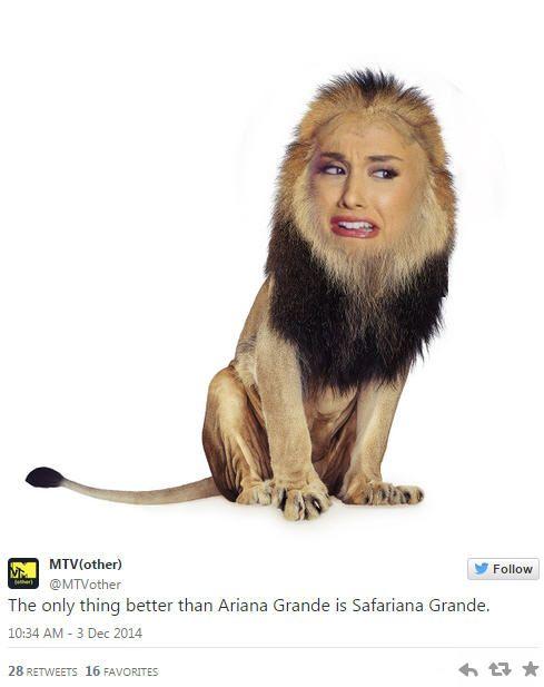 Ariana Grande Scared Meme- Victoria's Secret Fashion Show | Pophangover