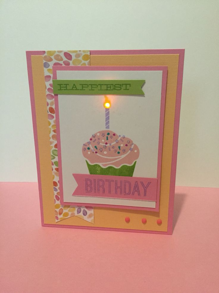 CTMH Kaleidoscope WotG, Chibitronics! I love making cards that have a little something extra fun!
