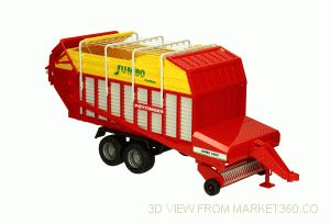 Pottinger Jumbo 6600 Profiline Forage Trailer 6600 Bruder 02214