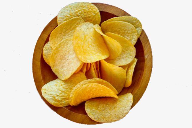 A Bowl Of Potato Chips Potato Chips Chips Potatoes