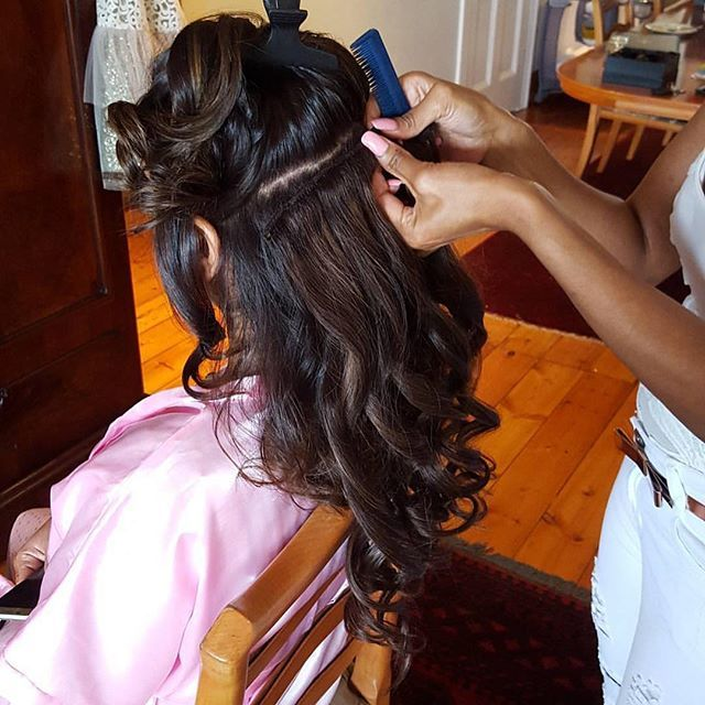 """QBHE is a SA brand that specializes in distributing and retailing of professional """"Human Remy Hair Extensions."""" Proudly Endorsed By Caroline Michael"""