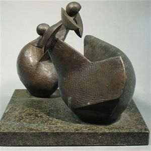 Conversation (bronze) by Edoardo Villa. http://www.knysnaplettherald.com/news/Arts--Entertainment/Entertainment/10541/Wonderful-exhibition-graces-Knysna