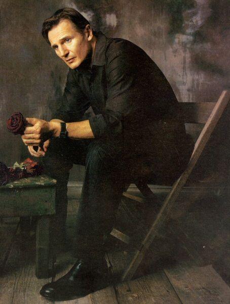 followingthebloodsteps:    Liam Neeson