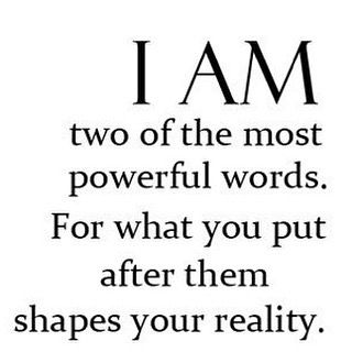 """Original quote of """" I AM """" –follow for daily updates #aesthetics #fitness #gyml…"""
