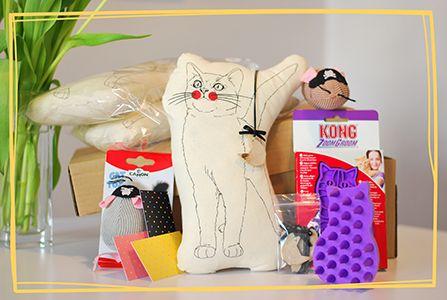 Przedpremierowa paczka :) #kot #cat #niespodzianka #prezent #box