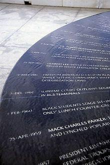 Civil Rights movement memorial