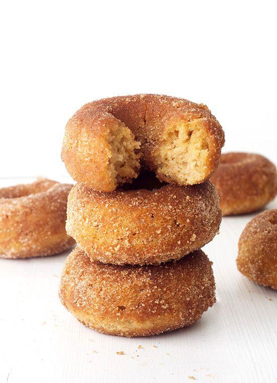 Easy Baked Cinnamon Sugar Donuts | Sweetest Menu