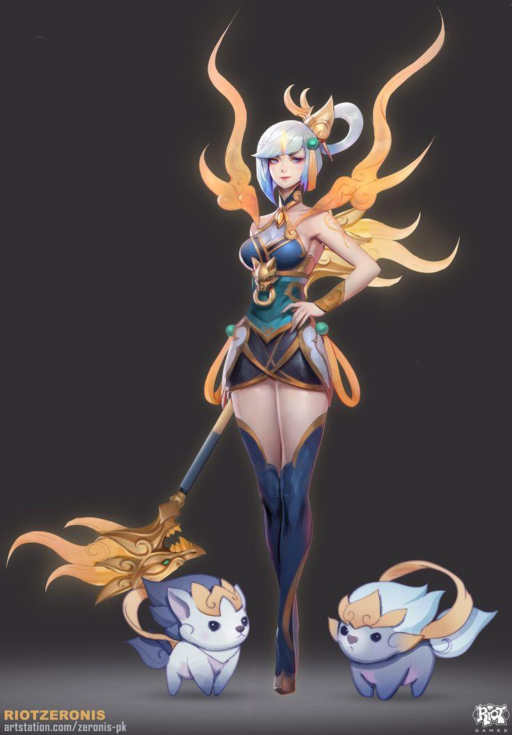 Lunar Empress Lux   Лунная Императрица Люкс @League of Legends @Лига Легенд #LoL #ЛоЛ