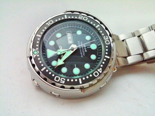 My Seiko Tuna MarineMaster SBBN015