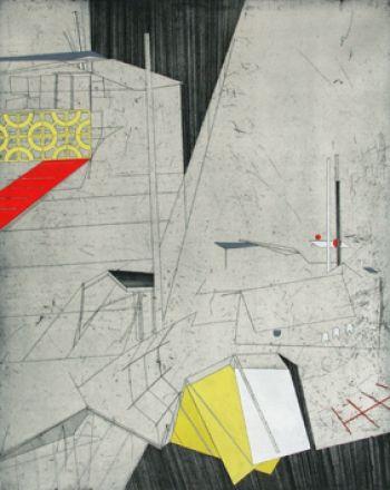 """Bronwen Sleigh """"Fliedersteg"""" from Printroom gallery, London, UK."""