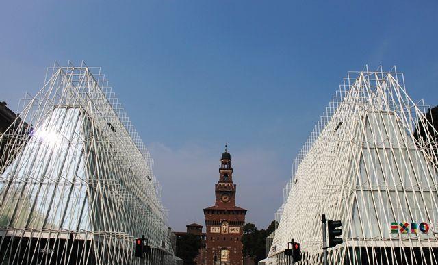 Castello Sforzesco and Expo Milano 2015 #milan #italy