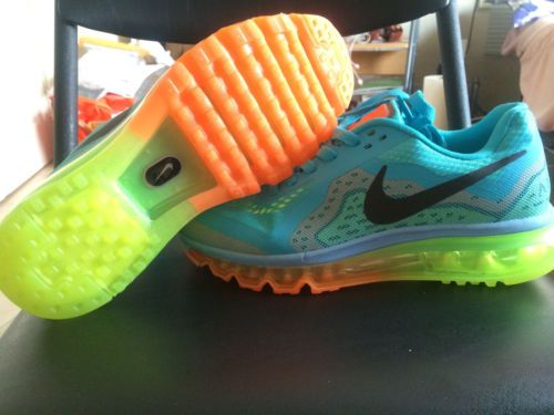 wholesale dealer 8ad18 7fc16 ... reduced 2014 nike air max triax shoes. so cute like rainbow brite has  her own