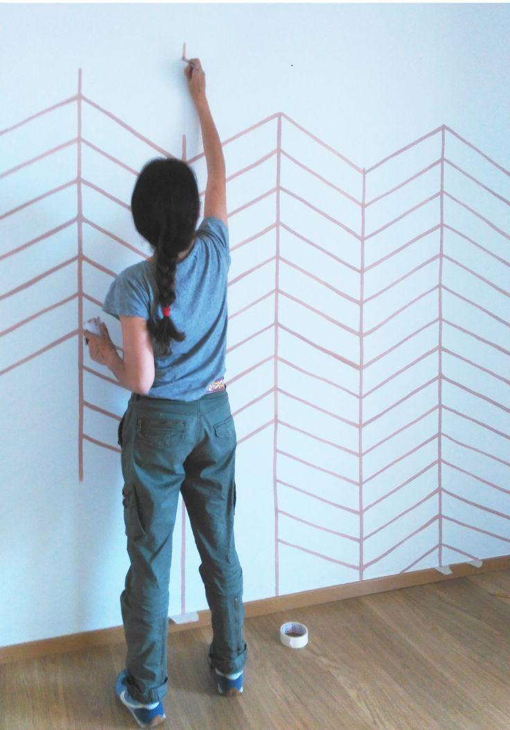 Mejores 101 im genes de paredes pintadas en pinterest for Fotos paredes pintadas