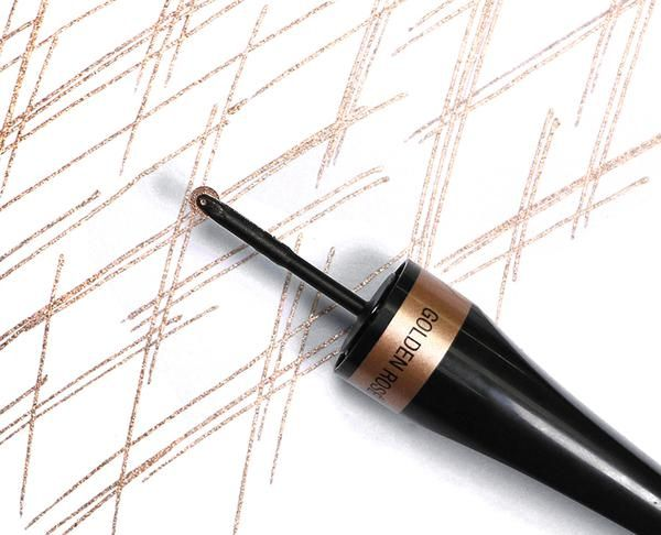 Description Revolutionary roller ball glides ink for easy, straight, smooth lines along lash line . Rock N' Roller Easy Eyeliner Ink is perfect for drawing grap