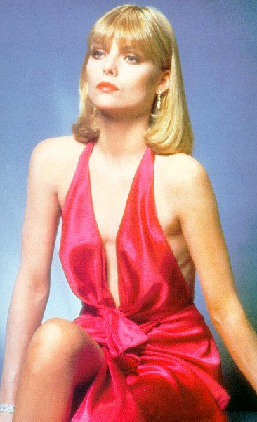 michelle pfeiffer scarface blue dress - Google Search