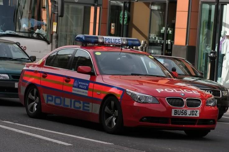 politie auto door Rico